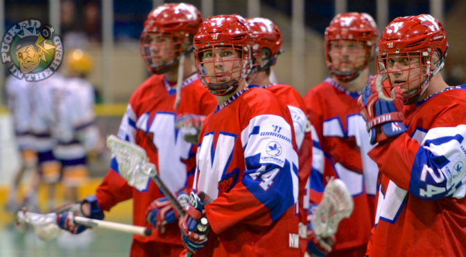 Slideshow: Salmonbellies vs Adanacs lacrosse