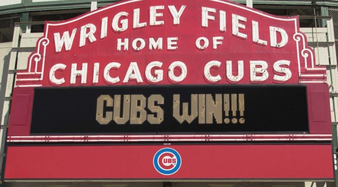 At last, the Cubs win