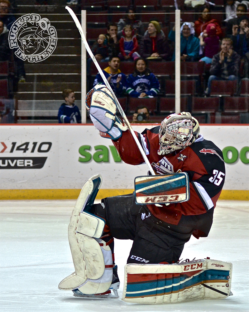 Jake Morrissey of the Vancouver Giants