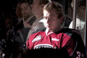 After a rough start to the season, Liam Liston spent much of 2012 on the Vancouver Giants bench. Reports indicate that Liston has retired from competitive hockey on Boxing Day 2012. Photo by Jason Kurylo for Pucked in the Head.