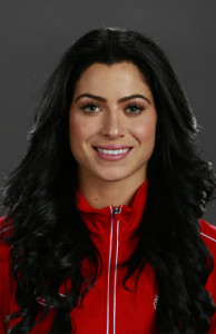Forward Jonelle Filigno in her official Team Canada portrait. Photo courtesy of Soccer Canada.
