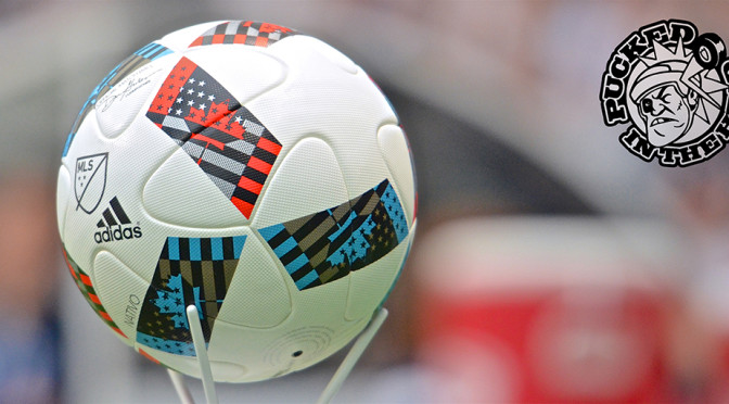That Canadian MLS soccer ball is purty. Photo by Jason Kurylo for Pucked in the Head.