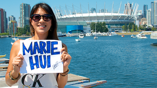 Marie Hui will be at Robson Square for the Vancouver Table Hockey Extravaganza. Will you? Photo by Jason Kurylo for Pucked in the Head.