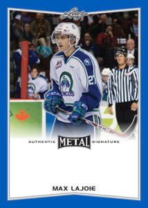Max Lajoie trading card