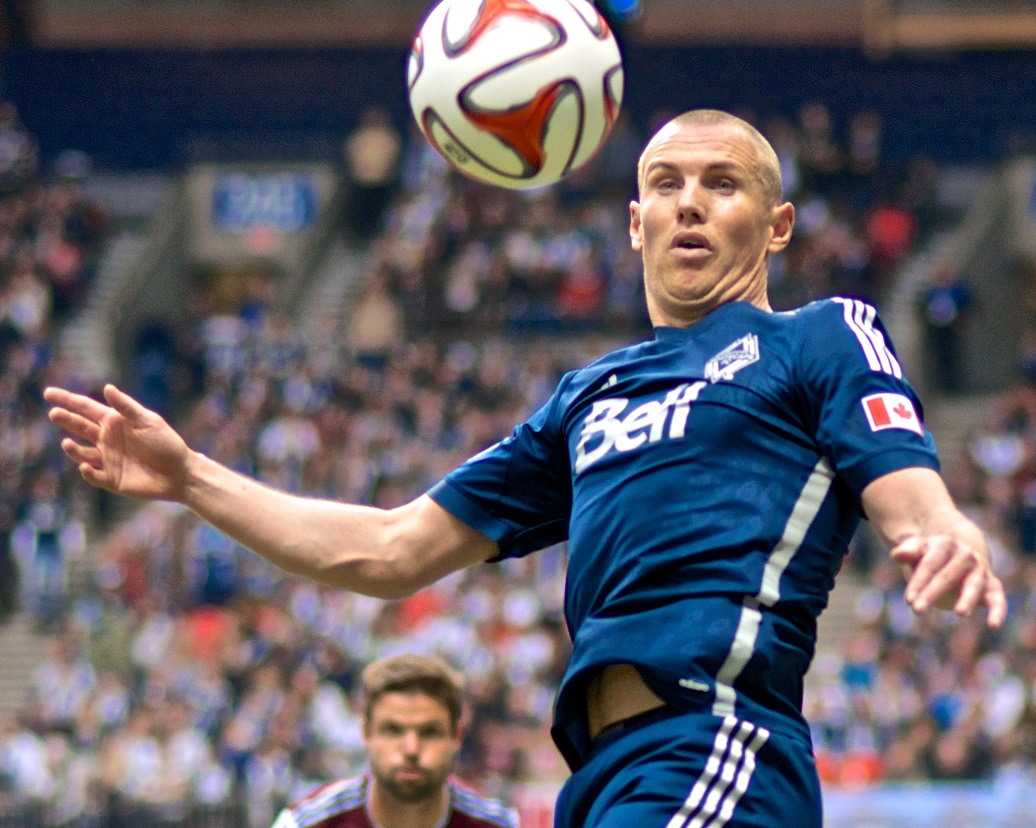 Kenny Miller leads the Whitecaps FC with three goals this young season. Will he help the Caps to their first road win against the LA Galaxy? Photo by Jason Kurylo for Pucked in the Head.