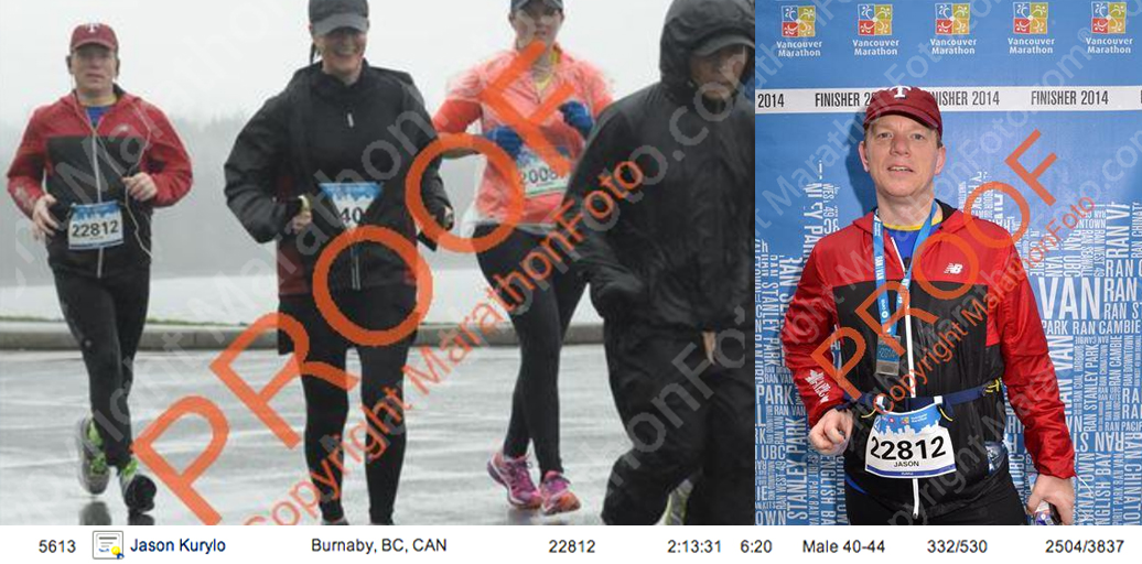 I've not decided if I'm going to pay for official race photos or not  — the best two of them, seen here from the proofs online, aren't, well, the best images of me.