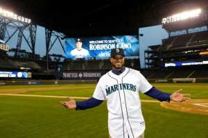 All-Star second baseman Robinson Cano brings great expectations (and a whole lot of greenbacks) to Seattle this season. Photo cribbed from a random website