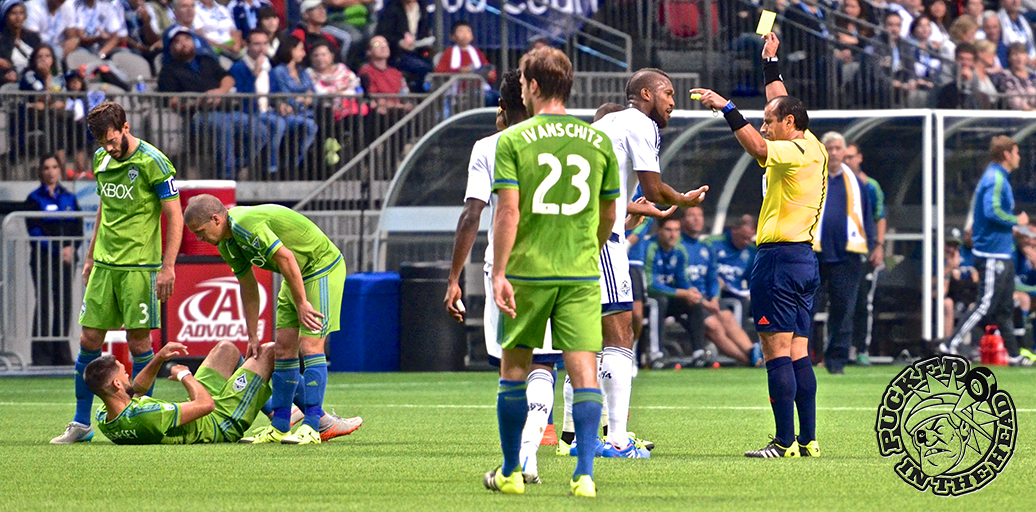 The Seattle Sounders clinched their fourth Cascadia Cup with a 3-0 win at BC Place. Photo by Jason Kurylo for Pucked in the Head.