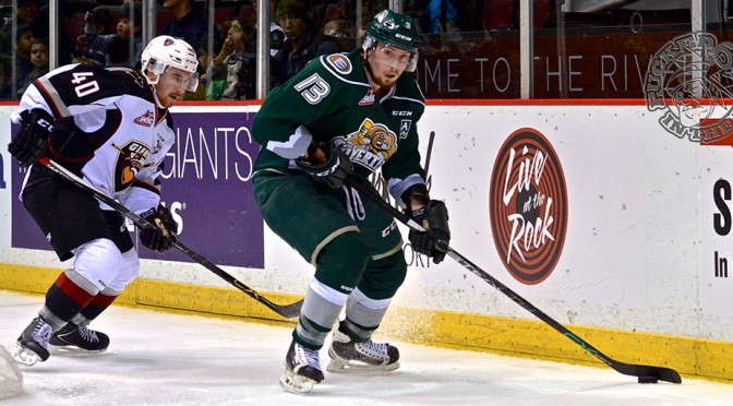 Silvertips waltz away with two points