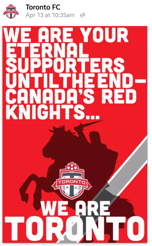 Submitted by a Columbus supporter, this banner ad was tweeted by TFC's official account. Apparently they can't read columnar text.
