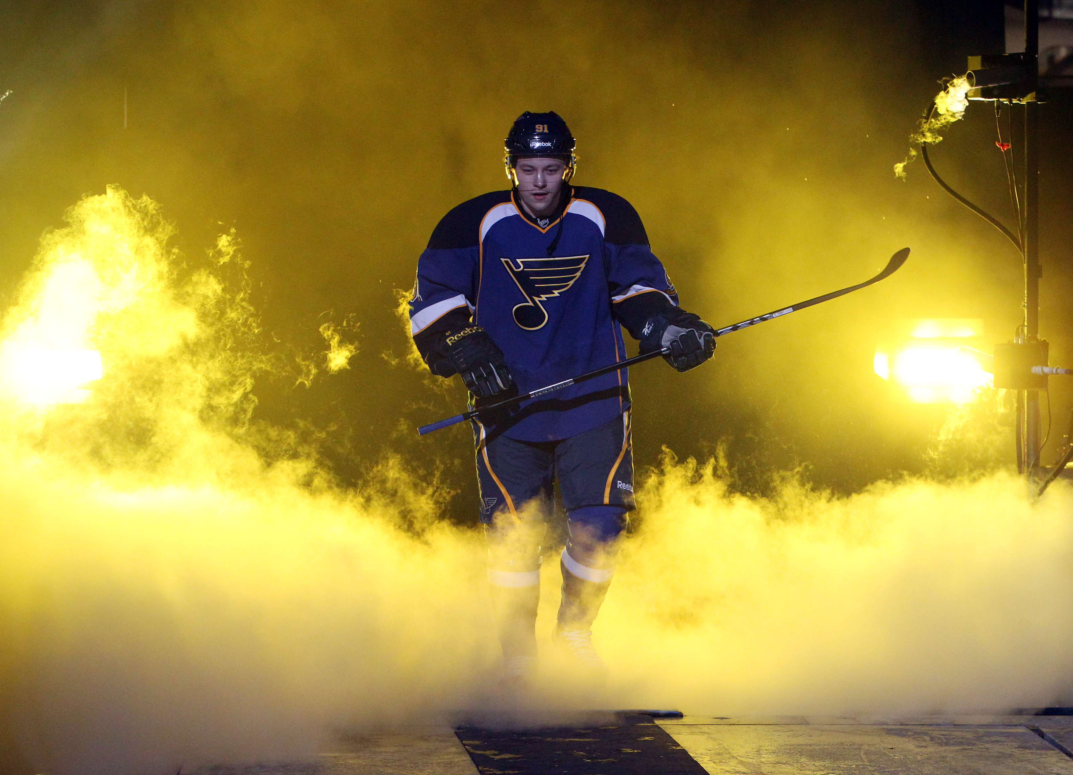 Vladimir Tarasenko of the St Louis Blues is the EA Sports NHL 17 cover dude, and my first round pick. Photo cribbed from the St Louis Blues website.