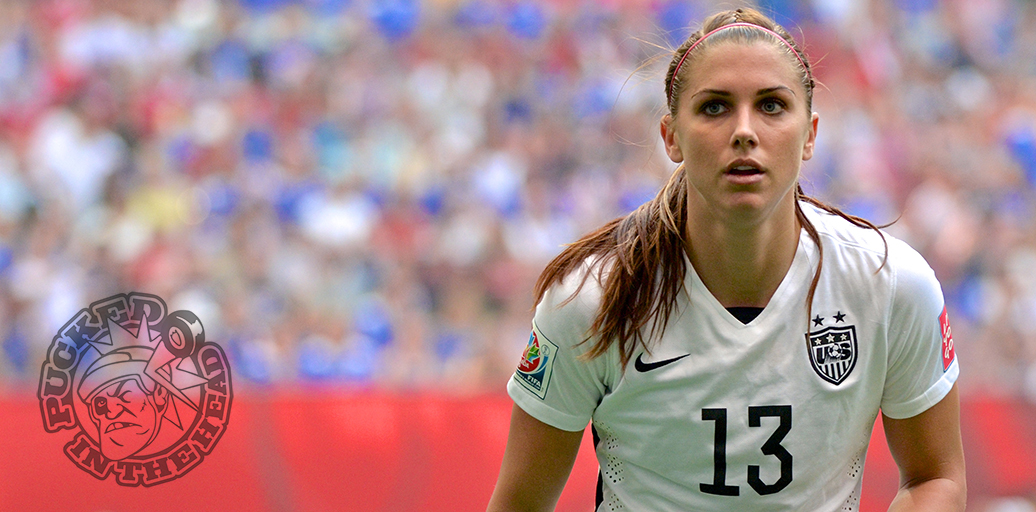 Alex Morgan Keeps Tabs On A Japanese Throw In During The Final Of 2015 FIFA