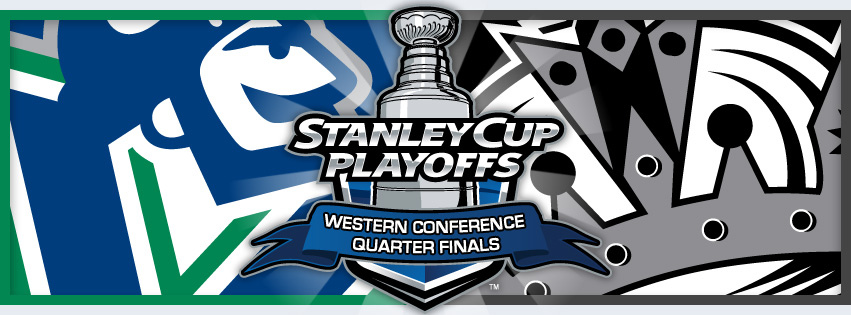 The Canucks host the Kings in round one