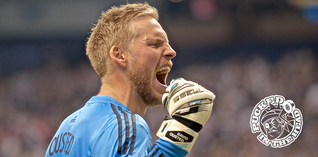 Vancouver Whitecaps FC Man of the Match David Ousted. Photo by Jason Kurylo for Pucked in the Head.