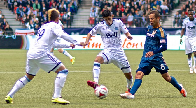 Whitecaps Look Lost In Space Against Galaxy