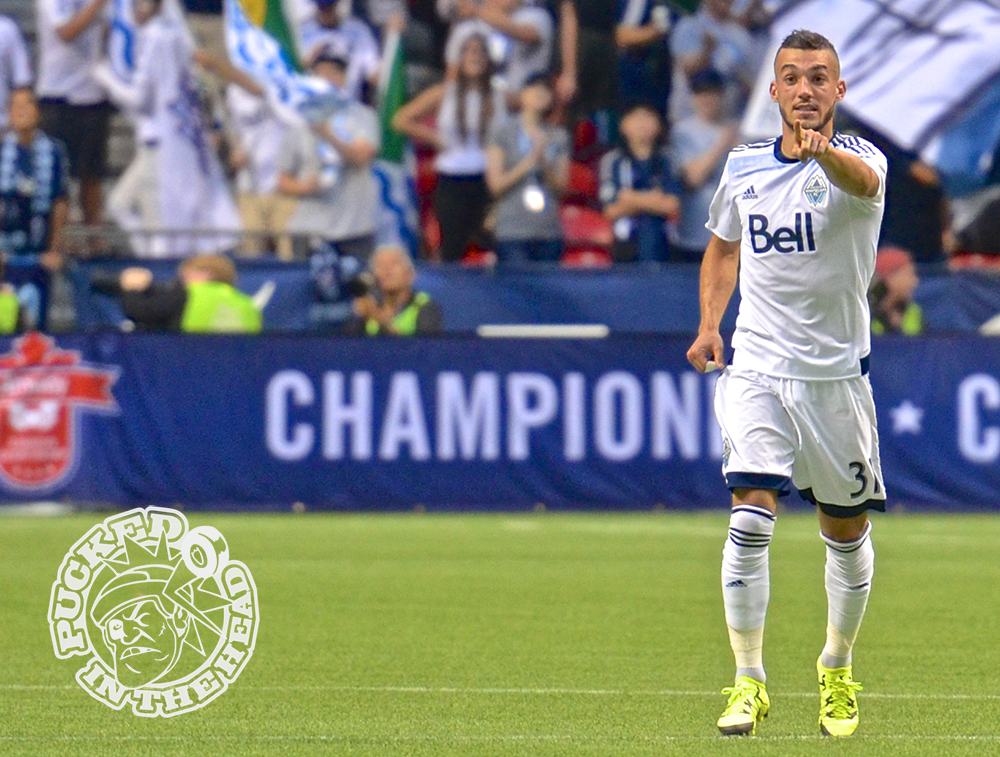 The Vancouver Whitecaps FC won their first-ever Amway Canadian Championship with a 2-nil victory over the Montreal Impact at BC Place. Photo by Jason Kurylo for Pucked in the Head.