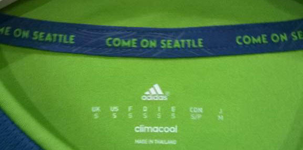 The Seattle Sounders are apparently playing the self-mockery card this season.