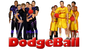 Dodgeball squeezes every predictable sports movie moment, but it works.