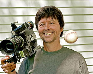 Ken Burns has become synonymous with slow-moving slideshows overdubbed with famous voices.