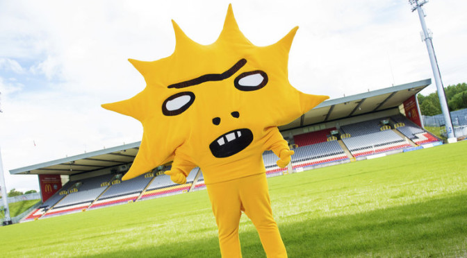 Somebody Approved This: Partick Thistle FC's 2015 Mascot