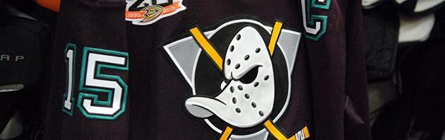 Somebody Approved This: Mighty Ducks of Anaheim Retro Jersey