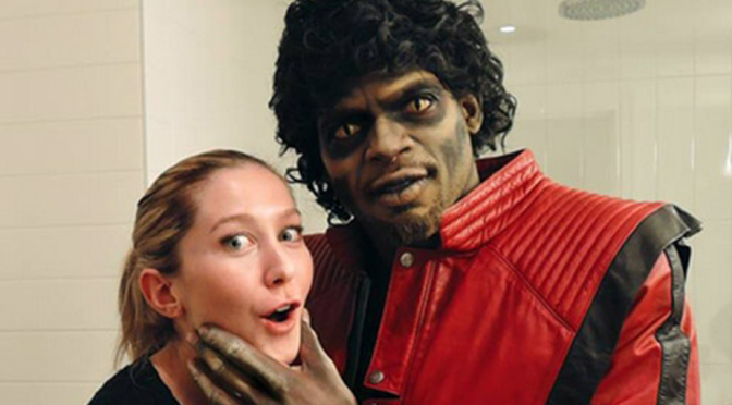 PK Subban dressed up as Jian Ghomeshi for Hallowe'en this year. *blink* Too soon?