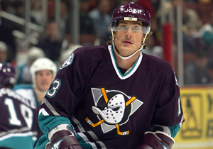 The hideous runs so wide and so deep in this maroon disaster, not even Teemu Selanne can cleanse my eye sockets. Photo stolen from ducks.nhl.com